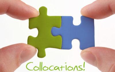 'Collocations' o colocaciones en inglés, ¿qué son?
