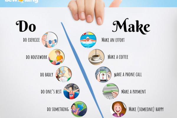 Diferencias entre 'do' y 'make'