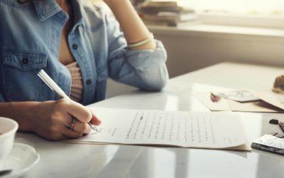 Cómo escribir una carta en Inglés